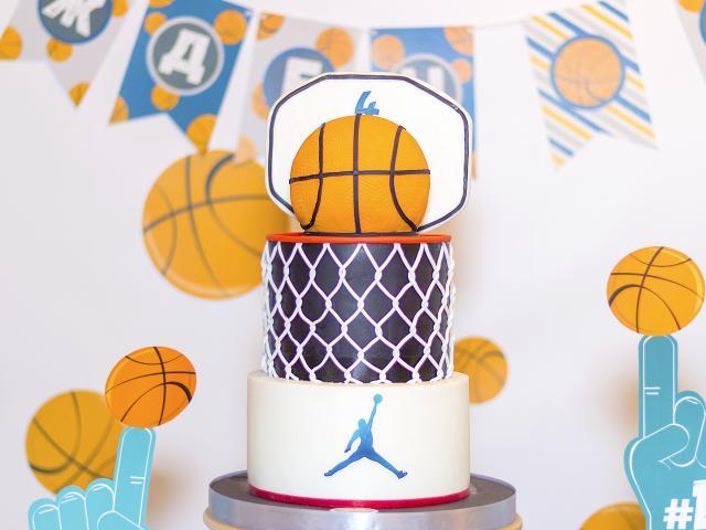 """Раян на 4, Тема """"Баскетбол"""""""